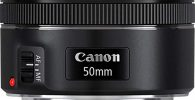 Objetivo-para-cámara réflex (EF 50 mm, F/1.8 STM)- color-negro